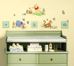 nursery toddler archives big wall decals winnie the pooh theme set of decals