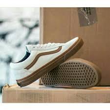 Jual Vans White jual vans skool white gum surabaya shoes store