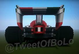 minecraft car real life minecraft mega build francesco bernoulli race car from cars 2