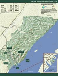 Oak Mountain State Park Trail Map by Nathan Bedford Forrest State Park U2014 Tennessee State Parks