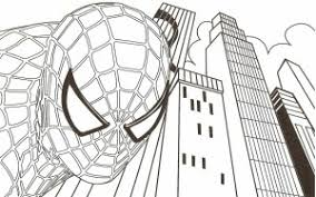 printable spiderman coloring pages free free coloring pages kids