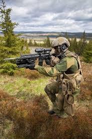 Norwegian Army Soldier Assigned To Brigade North U0027s 2nd Battalion