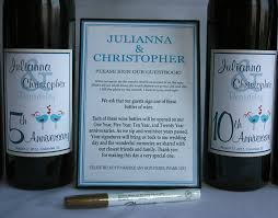 guest book wine bottle wine bottle wedding guest book labels custom labels wine labels