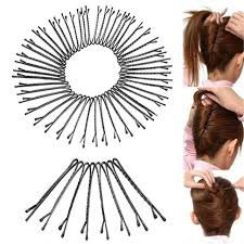 bobbie pins hair bobby pins invisible curly wavy grips salon hairpin