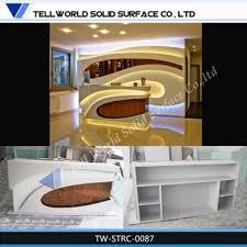 Luxury Reception Desk Luxury Spa Reception Desk Modern Front Office Counter Design
