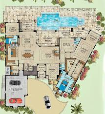 florida house plans with pool 3089 best blueprints floor plans images on floor plans