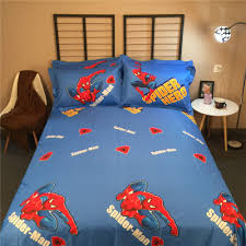 aliexpress buy spider man bedding bedclothes bed sheets