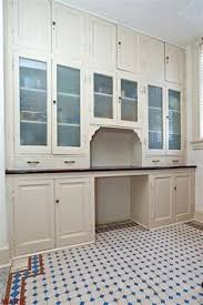 A Butlers Pantry From  Home Includes Original Wood And - Pantry kitchen cabinets