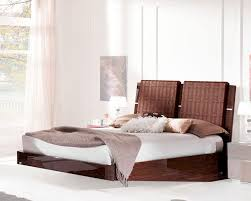 Modern European Bedroom Furniture Modern Sleigh Bed Caprice European Design Made In Italy 33b512