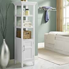 Bathroom Tower Cabinet Linen Cabinets Towers You Ll Wayfair