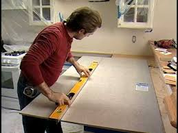 How To Install Kitchen Countertops How To Tile A Kitchen Countertop With Sink Part 1 The Home Depot