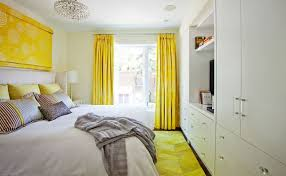 Yellow Bedroom Curtains The Way To Brighten Up A Room With Yellow Curtains