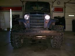 jeep willys truck lifted 1950 willys truck re rebuild jeepforum com