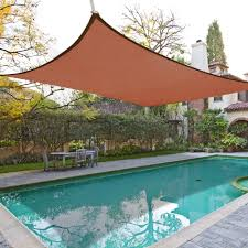 Canopy Triangle Sun Shade by 18 Square Sun Shade Sail Patio Sun Shades Canopy Outdoor