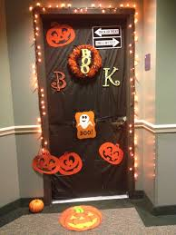 halloween dorm door decorations