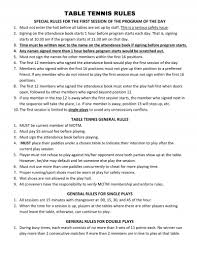 10 rules of table tennis milliken on the move older club table tennis the table