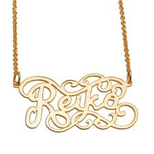 Nameplate Necklaces Gold Nameplate Necklace Sports Illustrated Swimsuit Edition Be