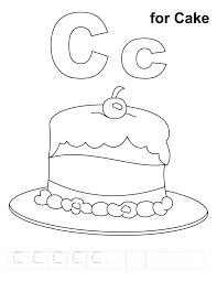 coloring pages for letter c letter c coloring pages things that start with c free printable