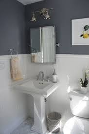 half bathroom design ideas to decorate a small bathroom to it look bigger with