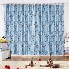 Pattern Drapes Curtains Modern Drapes Curtains Of Blue Botanical Patterns