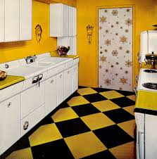 1950s Kitchen Furniture by Six Kitchen Designs From 1953 Avco American Kitchens Retro