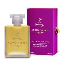 aromatherapy associates deep relax bath shower oil 55ml feelunique aromatherapy associates inner strength bath amp shower oil 55ml