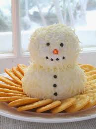 thanksgiving cheese ball cute and yummy snowman cheeseball crafts a la mode