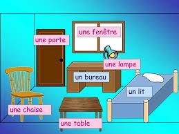 vocabulaire de la chambre vocabulaire d unité 4 leçon 9 ma chambre une porte une le une