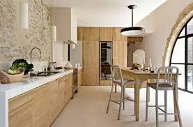 cuisine avec mur en charmant amenager une cuisine ouverte 9 une cuisine