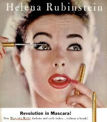 the makeup artist handbook helena rubinstein s waterproof mascara c 1957 hair and makeup