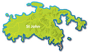 st islands map where is st on island times us islands