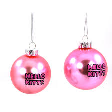 hello kurt adler glass ornament set gift boxed
