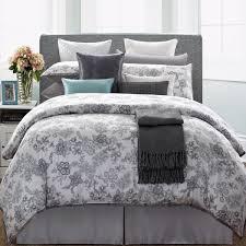 everrouge white lotus 7 piece queen cotton duvet cover set free