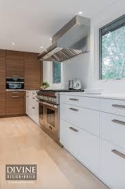 contemporary white u0026 wood kitchen tour