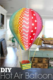 hot air balloon decorations diy hot air balloons the pleated poppy