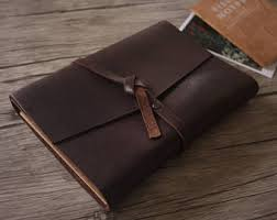 Leather Guest Book Wedding Leather Guestbook