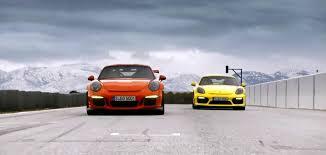 porsche cayman gt3 rs track faceoff porsche 911 gt3 rs or cayman gt4 autofluence