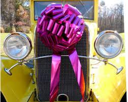 new car gift bow gift bows etsy