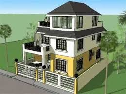 small 3 story house plans house plan designs 3 storey w roofdeck bedroom designs