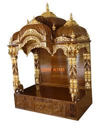 Decoration Of Temple In Home Altars U0026 Wood Carvings U2013 Iskcon Ujjain