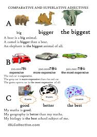 Identifying Adverbs And Adjectives Worksheets Sort Through Many Different Comparative And Superlative Adjectives
