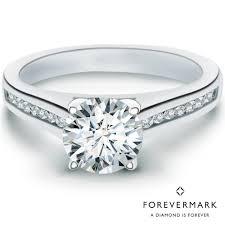 white stones rings images Forevermark diamond engagement ring in 18kt white gold with side jpg