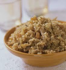 cuisiner le boulgour boulgour aux oignons et raisins secs les meilleures recettes de