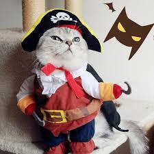cat costume pirate cat clothes for pet cat costume suit dog clothes