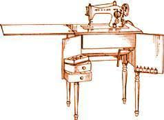 Singer Sewing Machine Cabinets by Singer Sewing Machine Cabinet No 47