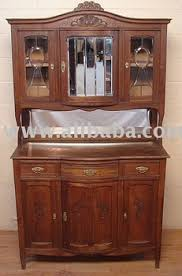 carved french country oak buffet china cabinet hutch buy china