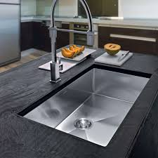 Planar  Single Undermount Kitchen Sink By Franke YLiving - Single undermount kitchen sinks