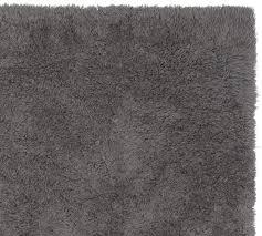 ultra plush rug charcoal pottery barn