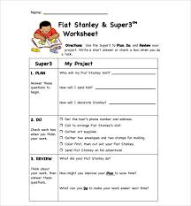 sample flat stanley template 8 free documents in pdf word