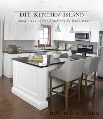 kitchen island cabinets build a diy kitchen island build basic